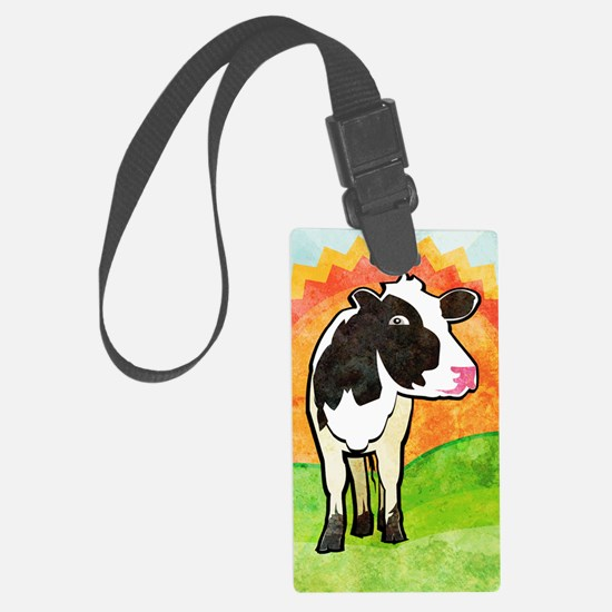 iTouch2caseDairyCow Luggage Tag