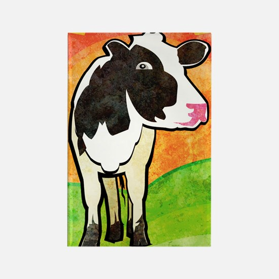 iTouch4caseDairyCow Rectangle Magnet