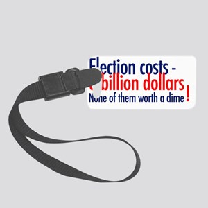 Election Small Luggage Tag