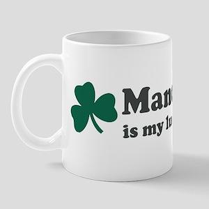 Mandy is my lucky charm Mug