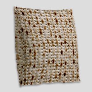 mat latest Burlap Throw Pillow