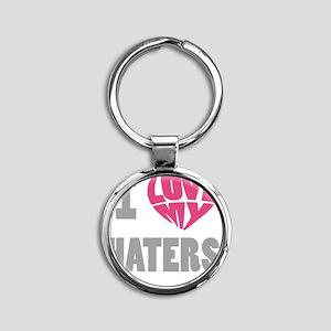 my haters-3 Round Keychain