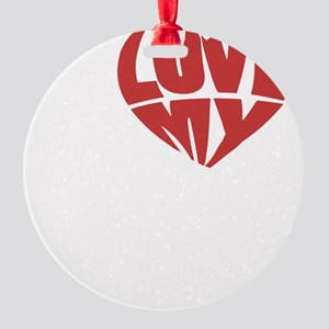 my haters-2 Round Ornament