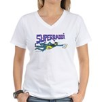 Superrabbi Women's V-Neck T-Shirt