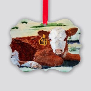 calfPC Picture Ornament