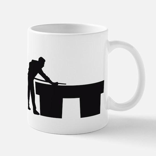 Evolution Billard B Mug