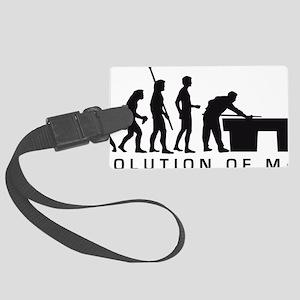 Evolution Billard B Large Luggage Tag