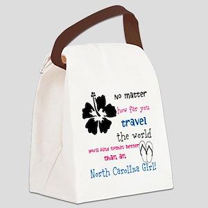 northcarolinagirl1 Canvas Lunch Bag
