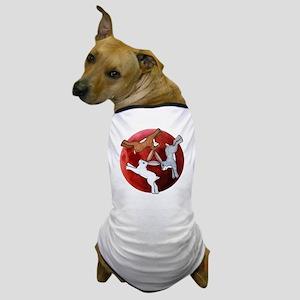 three hares Dog T-Shirt