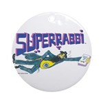 SUPERRABBI Ornament (Round)