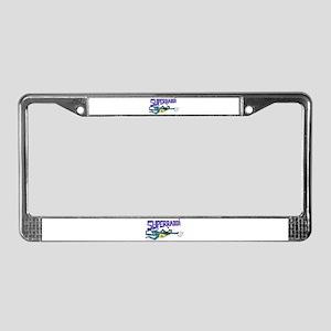 SUPERRABBI License Plate Frame