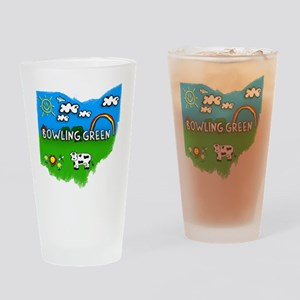 Bowling Green Drinking Glass