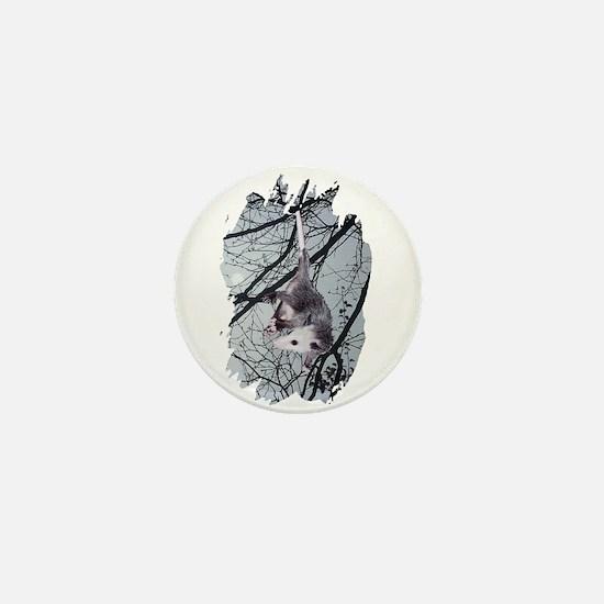 Moonlight Possum Mini Button