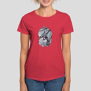 Moonlight Possum Women's Dark T-Shirt