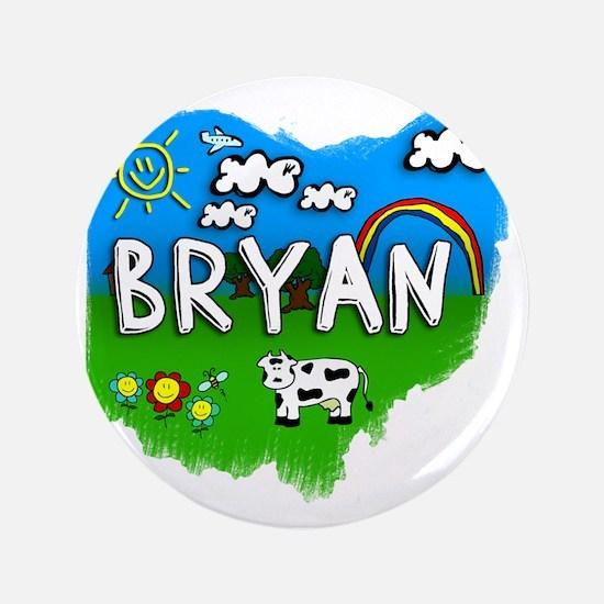 """Bryan 3.5"""" Button"""