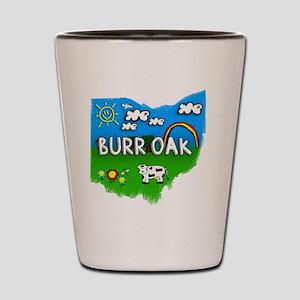 Burr Oak Shot Glass