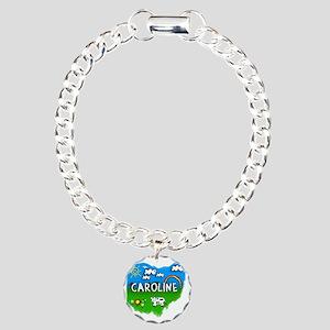 Caroline Charm Bracelet, One Charm