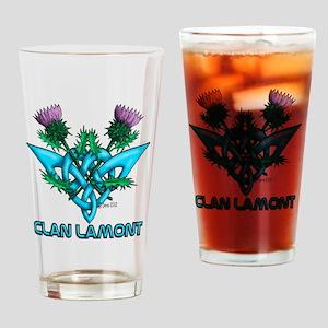 Thistles Lamont Drinking Glass