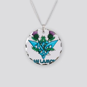 Thistles Lamont Necklace Circle Charm