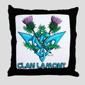 Thistles Lamont Throw Pillow