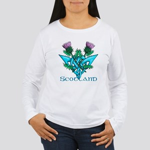 Thistles Scotland Women's Long Sleeve T-Shirt