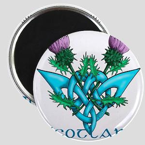 Thistles Scotland Magnet