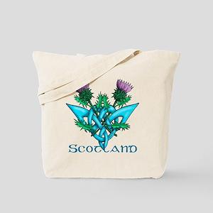 Thistles Scotland Tote Bag