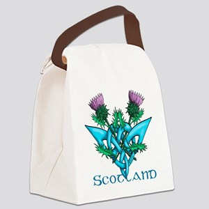 Thistles Scotland Canvas Lunch Bag