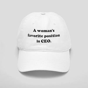 A woman's favorite position i Cap