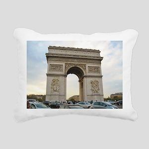 Arc de Triomphe Rectangular Canvas Pillow