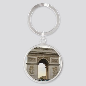 Arc de Triomphe Round Keychain
