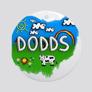 Dodds Round Ornament
