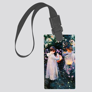 iPad Sargent Lily Large Luggage Tag
