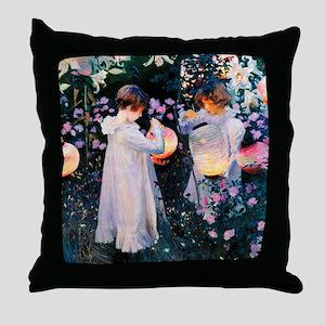 iPad Sargent Lily Throw Pillow