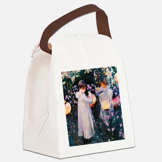 iPad Sargent Lily Canvas Lunch Bag