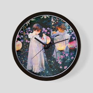 iPad Sargent Lily Wall Clock