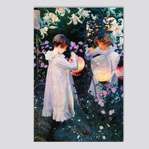 GC Sargent Lily Postcards (Package of 8)