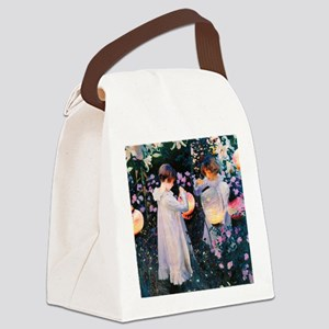 NC Sargent Lily Canvas Lunch Bag