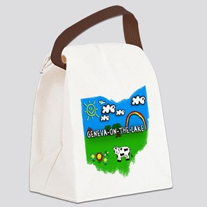 Geneva-on-the-Lake Canvas Lunch Bag