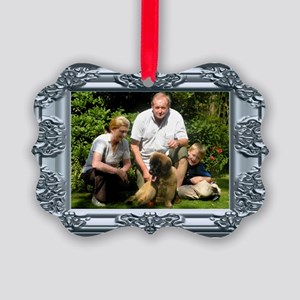 Custom silver baroque framed photo Picture Ornamen