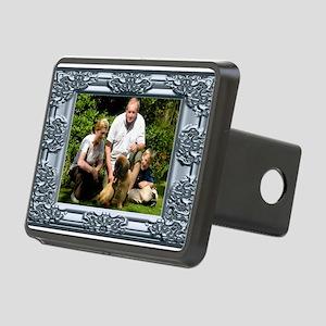 Custom silver baroque framed photo Rectangular Hit