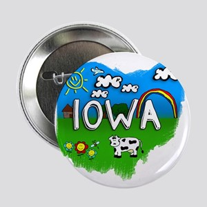 "Iowa 2.25"" Button"