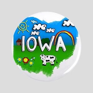 "Iowa 3.5"" Button"