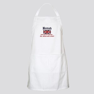 Good Looking British BBQ Apron