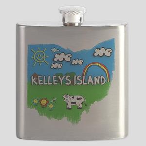 Kelleys Island Flask