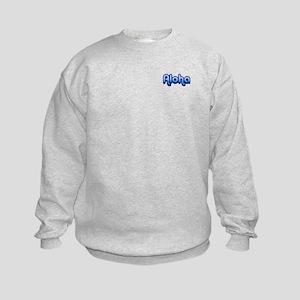 Ocean Aloha Kids Sweatshirt
