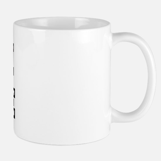 CRUDE is my lucky charm Mug