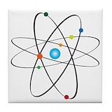 Atom Tile Coasters