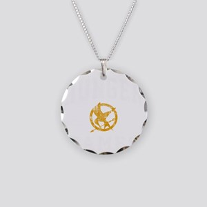 Hunger Games - dk Necklace Circle Charm