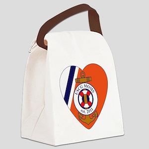 BOnnie 6-Logo Canvas Lunch Bag